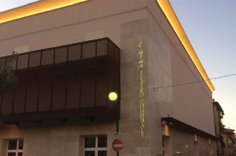 Cinema Teatro Comunale – Riqualificazione estetica e funzionale